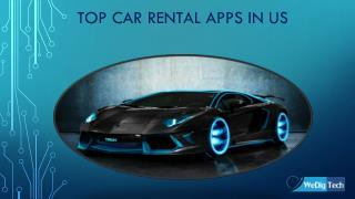 Top Car Rental Apps In US