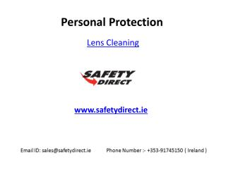 Lens Cleaning equipments in Ireland at SafetyDirect.ie