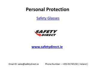 Protective Safety Glasses in Ireland are at SafetyDirect.ie