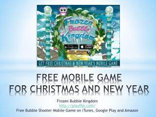 2015 Free Mobile Game For Christmas And New Year