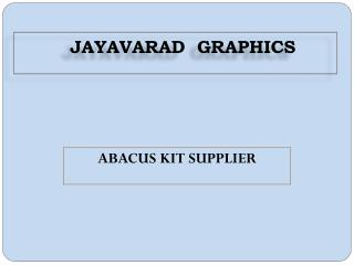 Abacus Kit Supplier
