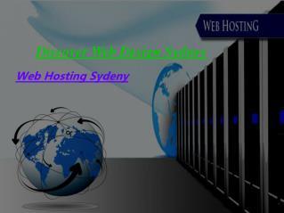 Web Hosting Sydney | Discover Web Design Sydney