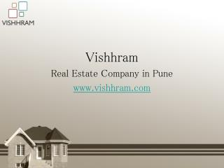 Vishhram- Best New Residential Projects in Pune
