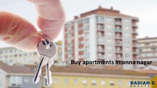 Buy apartments in anna nagar