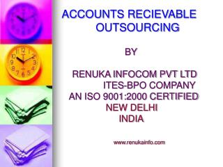 ACCOUNTS RECIEVABLE             OUTSOURCING