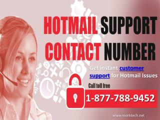 Call Hotmail phone number 1-877-788-9452 tollfree to contact Hotmail