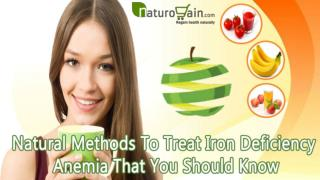 Natural Methods To Treat Iron Deficiency Anemia That You Should Know