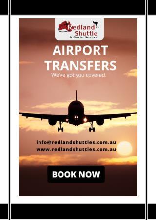 Airport Transfer Service Sydney - Redland Shuttle Service