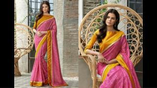 Elegant But Simple Saree blouse Design