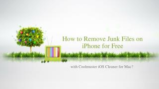 How to remove junk files on iPhone