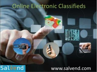 Online Electronic Classifieds