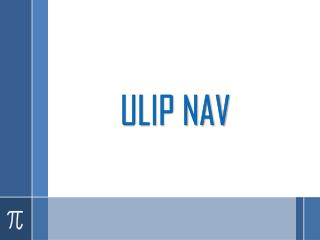 Insurance products with an innovative touch - ULIP NAV