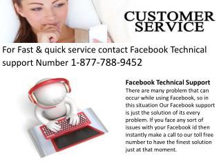 Facebook Helpline Number ||||//1-877-788-9452//| Facebook Contact Number