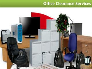 Benefits of Hiring Office Clearance Services