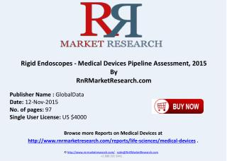 Rigid Endoscopes Medical Devices Pipeline Review 2015