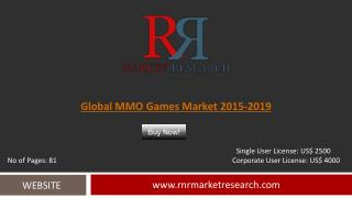 Global Massively Multiplayer Online (MMO) Games Market 2016-2020 Outlook Report