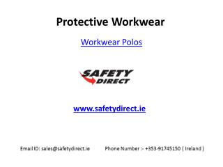 Latest Collection of Workwear Polos in Ireland at SafetyDirect.ie