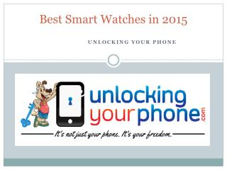 Best Smart Watches in 2015
