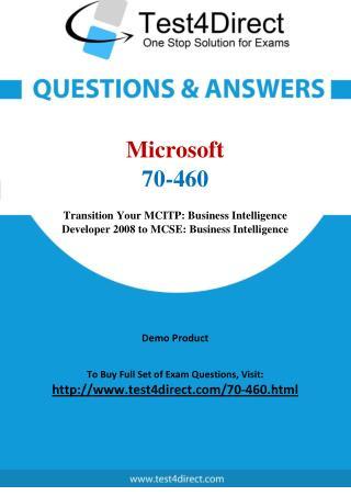 Microsoft 70-460 Exam Questions