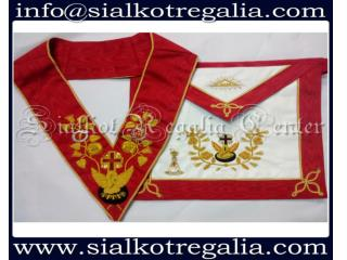 Rose Croix 18th degree Apron & collar