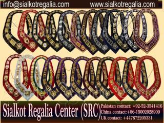 Masonic Blue lodge chain collar