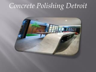 Concrete Polishing Detroit