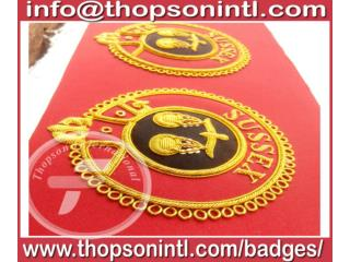 Knight of Malta mantle badges
