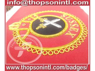 Knight of Malta mantle badges - Sword Bearer