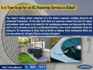 Best and Inexpensive AC Repairing Service in Dubai