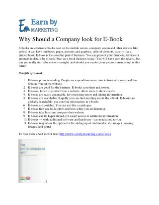 EBook Conversion Services company (9899756694) in Noida India-EarnbyMarketing.COM