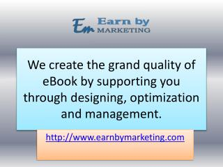 Best Ebook developing and Design Service Company (9899756694) in noida india-EarnbyMarketing.COM