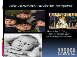 Professional Photography, Video, Graphic Services for Events, Weddings with Precursor Technologies in Denver, Colorado |