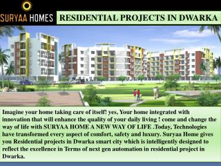 Residential projects in Dwarka
