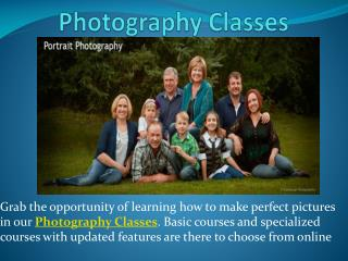 Photography Classes, Photography Career, Photography Workshops