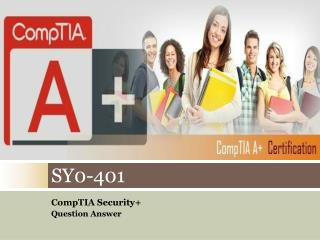 Pass4sure SY0-401 Exam