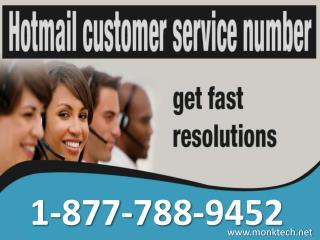Call Hotmail customer service 1-877-788-9452 tollfree number to get technical support for Hotmail