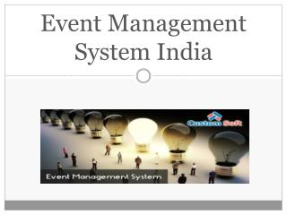 Event Management Software India