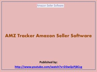 Amazon Seller Software-AMZ Tracker Amazon Seller Software