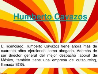 El licenciado Humberto Cavazos tiene ahora más de cuarenta años ejerciendo como abogado.