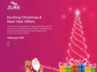 Exciting Christmas and New Year offer at Zuan Technology for year 2015