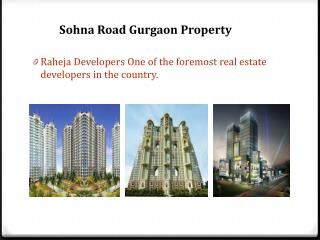 Sohna Road Gurgaon property