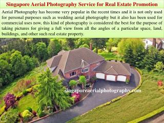 Singapore Aerial Photography Service for Real Estate Promotion