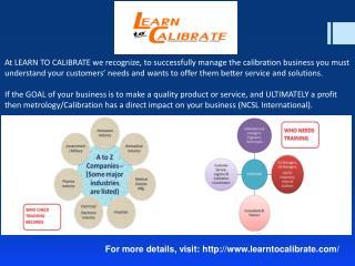 Calibration Lab Setup Consulting