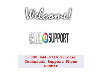 Printer Technical Support 1 800-644-5716 Phone Number