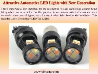 Attractive Automotive LED Lights with New Generation