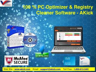 Download Free Registry Cleaner & PC Optimizer - AKick