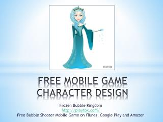 Free Mobile Game Character Design Frozen Bubble Kingdom