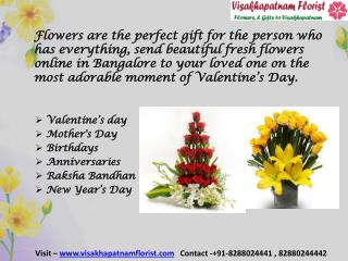 Online Flower and Cake Delivery Visakhapatnam