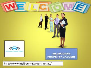 Specialist in property valuer with Melbourne Property Valuers