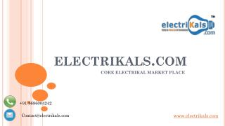 NUMERIC Electrical Products | electrikals.com